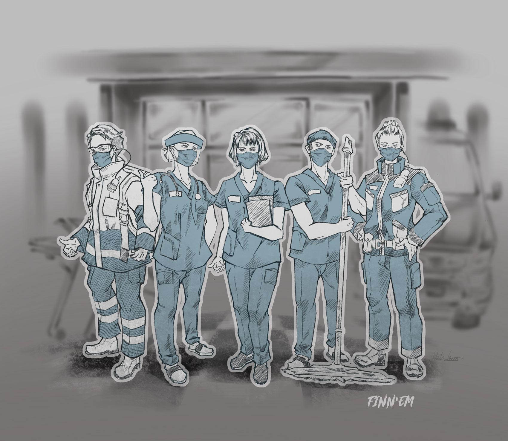 FinnHELP-keskusteluapua sote-ammattilaisille – auttajaankin voi sattua